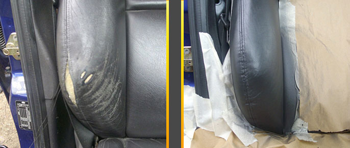 The Leather Doctor Leather Sofa And Car Seat Crease Repair