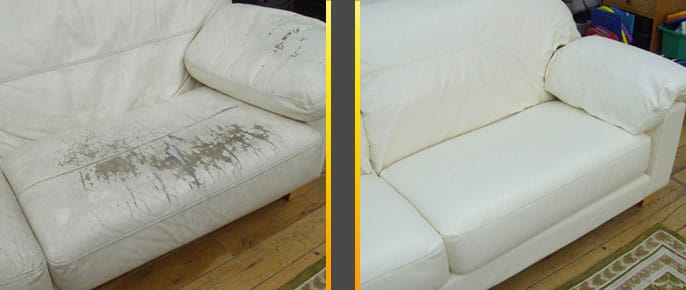 The Leather Doctor Peeling Leather Sofa And Peeling Car Seat Repair
